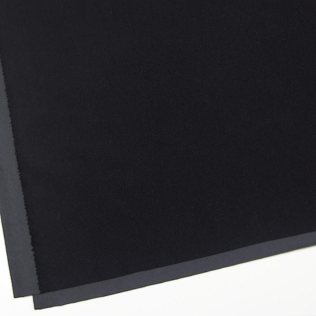 ポリエステル&コットン×無地(ブラック)×バイアスコーデュロイ イメージ2