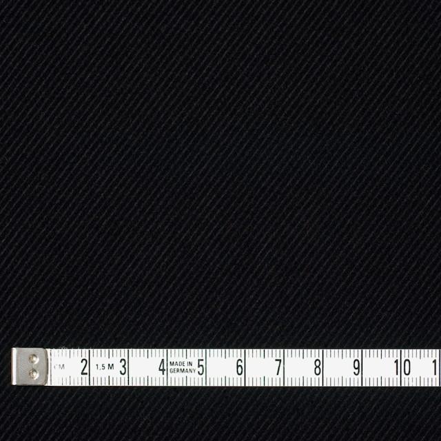 ポリエステル&コットン×無地(ブラック)×バイアスコーデュロイ イメージ4