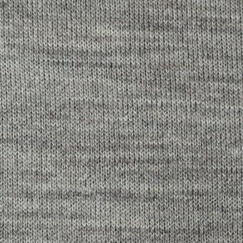 アクリル&ウール混×無地(グレー)×天竺ニット_全4色 サムネイル1