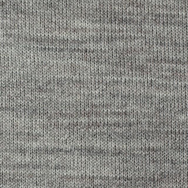 アクリル&ウール混×無地(グレー)×天竺ニット_全4色 イメージ1