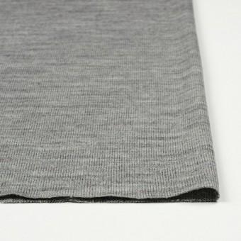 アクリル&ウール混×無地(グレー)×天竺ニット_全4色 サムネイル3