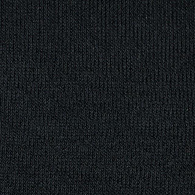 アクリル&ウール混×無地(ブラック)×天竺ニット_全4色 イメージ1