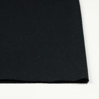 アクリル&ウール混×無地(ブラック)×天竺ニット_全4色 サムネイル3