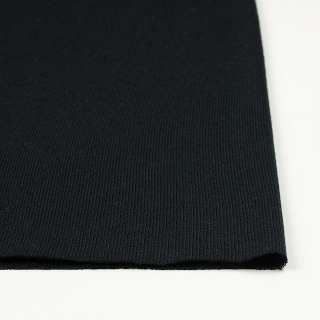 アクリル&ウール混×無地(ブラック)×天竺ニット_全4色 イメージ3