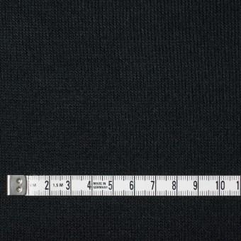 アクリル&ウール混×無地(ブラック)×天竺ニット_全4色 サムネイル4