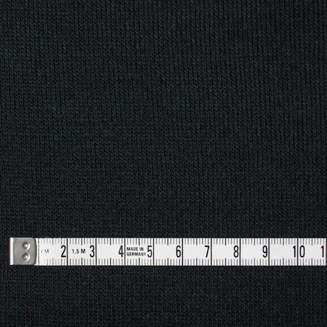 アクリル&ウール混×無地(ブラック)×天竺ニット_全4色 イメージ4