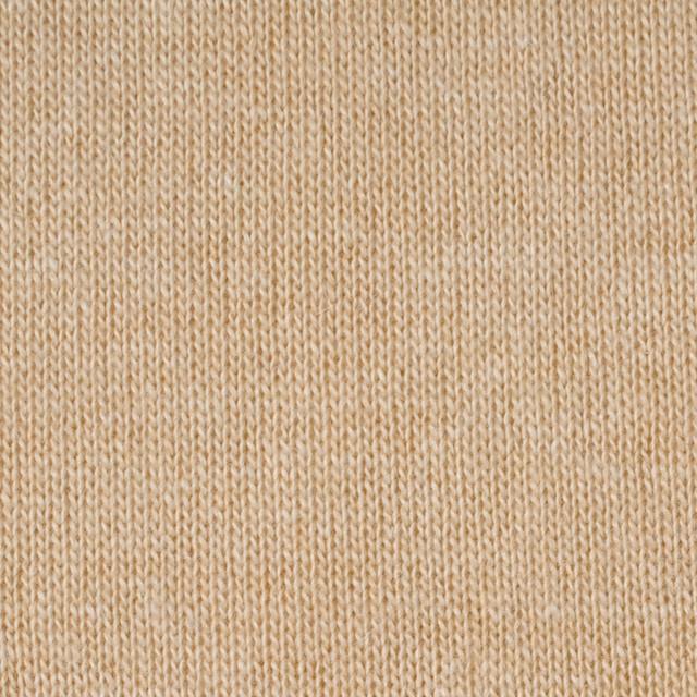 ウール&アクリル×無地(ウォームベージュ)×天竺ニット_全5色 イメージ1