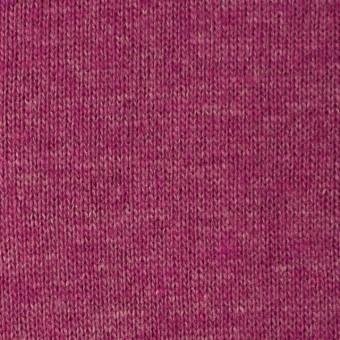 ウール&アクリル×無地(チェリーピンク)×天竺ニット_全5色 サムネイル1