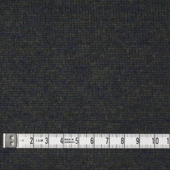 ウール&アクリル×無地(ダークモス&ネイビー)×天竺ニット_全5色 サムネイル4
