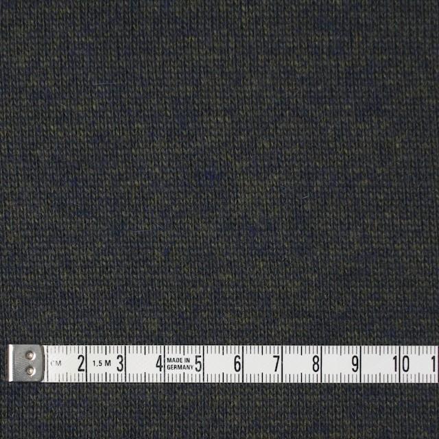 ウール&アクリル×無地(ダークモス&ネイビー)×天竺ニット_全5色 イメージ4