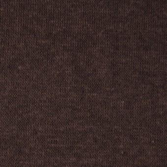 モダール&ウール×無地(ココア)×天竺ニット_全2色 サムネイル1