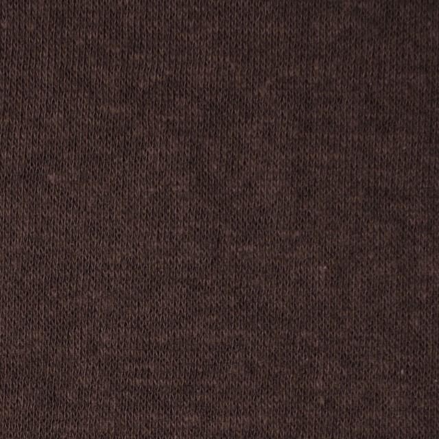 モダール&ウール×無地(ココア)×天竺ニット_全2色 イメージ1