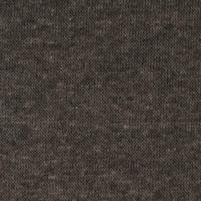 モダール&ウール×無地(カーキ)×天竺ニット_全2色 イメージ1