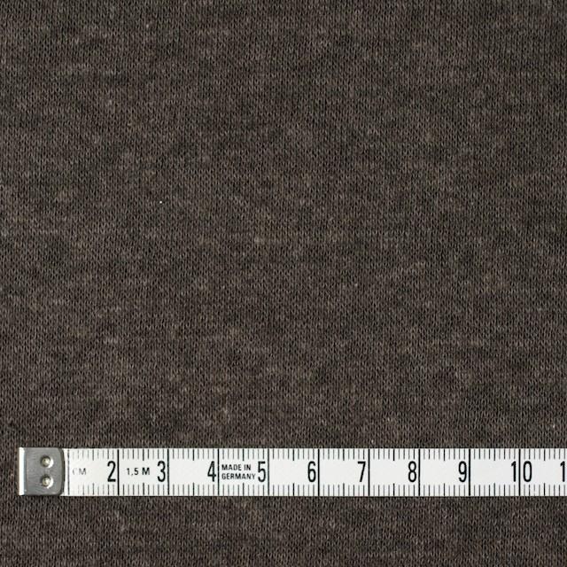 モダール&ウール×無地(カーキ)×天竺ニット_全2色 イメージ4
