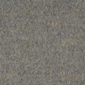 ウール&アクリル×無地(グレーミックス)×圧縮天竺ニット サムネイル1