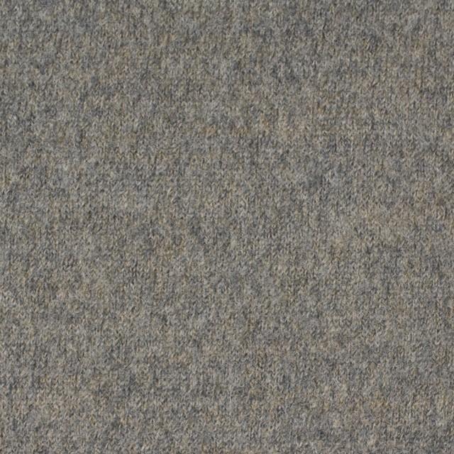 ウール&アクリル×無地(グレーミックス)×圧縮天竺ニット イメージ1