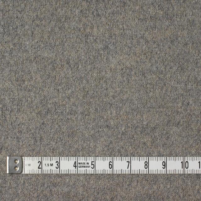 ウール&アクリル×無地(グレーミックス)×圧縮天竺ニット イメージ4
