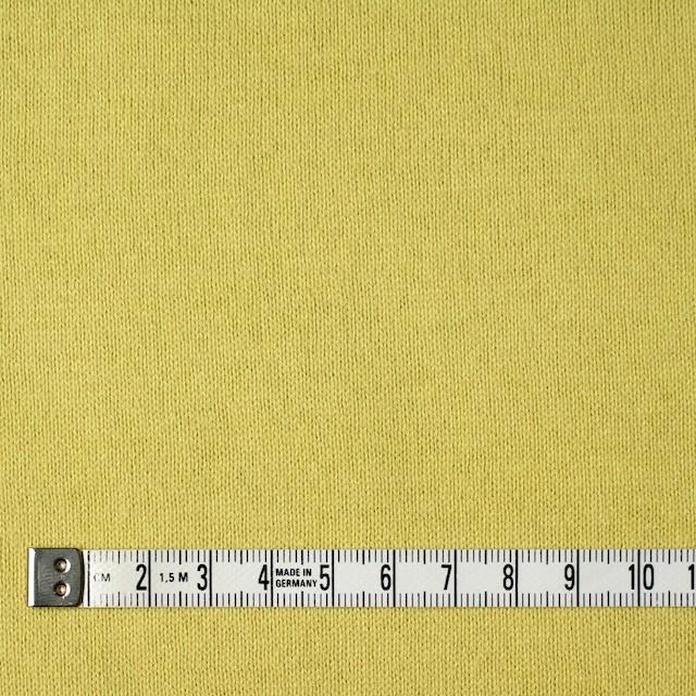 コットン×無地(レモンイエロー)×天竺ニット_全5色 イメージ4
