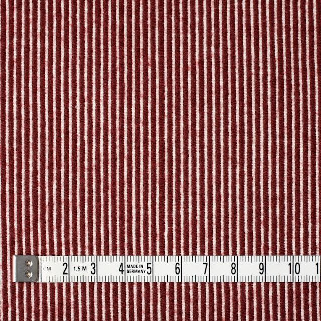 コットン&ウール×ストライプ(レッド)×コードレーン イメージ4