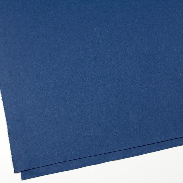 ウール×無地(ブルー)×フラノ(フランネル) イメージ2