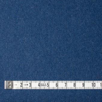 ウール×無地(ブルー)×フラノ(フランネル) サムネイル4