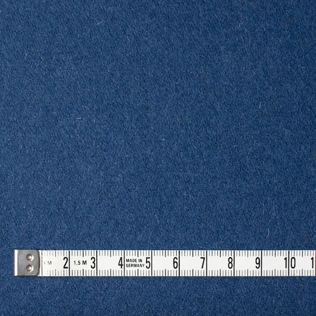 ウール×無地(ブルー)×フラノ(フランネル) イメージ4
