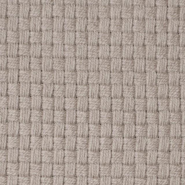 ウール×無地(ベージュグレー)×斜子織 イメージ1