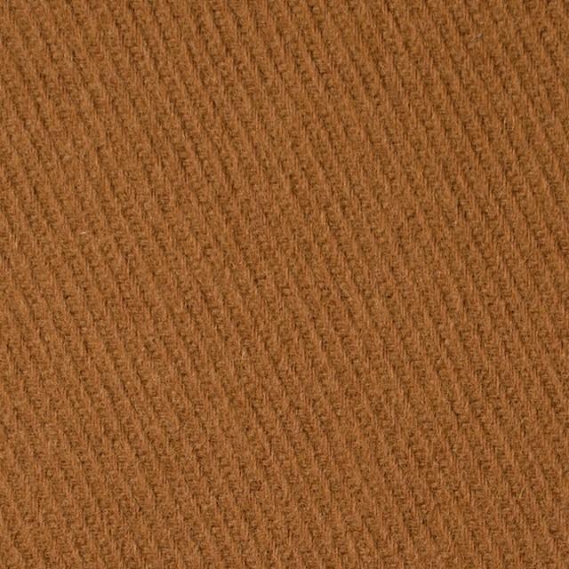 ウール&アクリル混×無地(ハニーブラウン)×カルゼ イメージ1