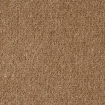 ウール×無地(カーキベージュ)×二重織 サムネイル1