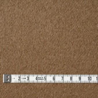 ウール&ナイロン×無地(カーキベージュ)×二重織ビーバー サムネイル4