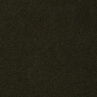 コットン×無地(カーキグリーン)×モールスキン サムネイル1