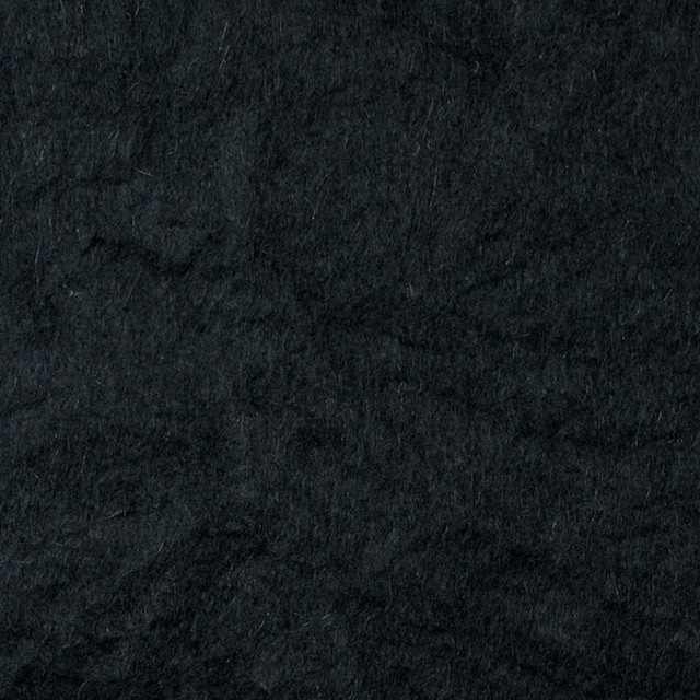 ウール×無地(ブラック)×ビーバーワッシャー イメージ1