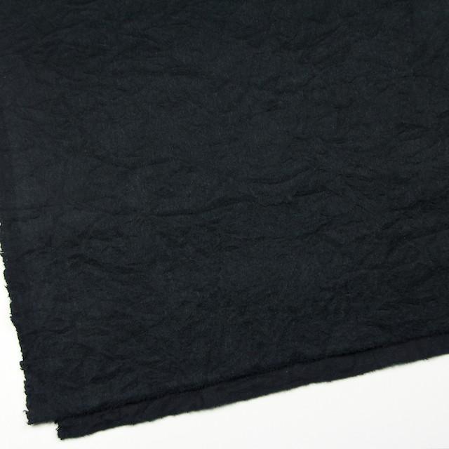 ウール×無地(ブラック)×ビーバーワッシャー イメージ2