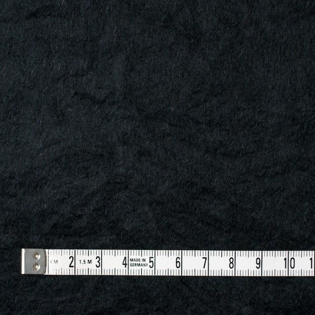 ウール×無地(ブラック)×ビーバーワッシャー イメージ4