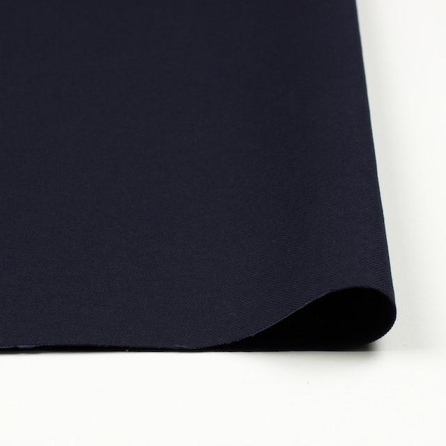 コットン×無地(ダークネイビー)×オックスフォード_全2色 イメージ3