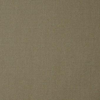 コットン&ポリエステル×無地(カーキ)×シャンブレーギャバジン サムネイル1