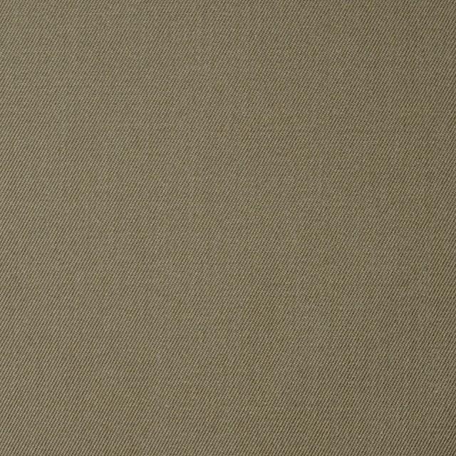 コットン&ポリエステル×無地(カーキ)×シャンブレーギャバジン イメージ1