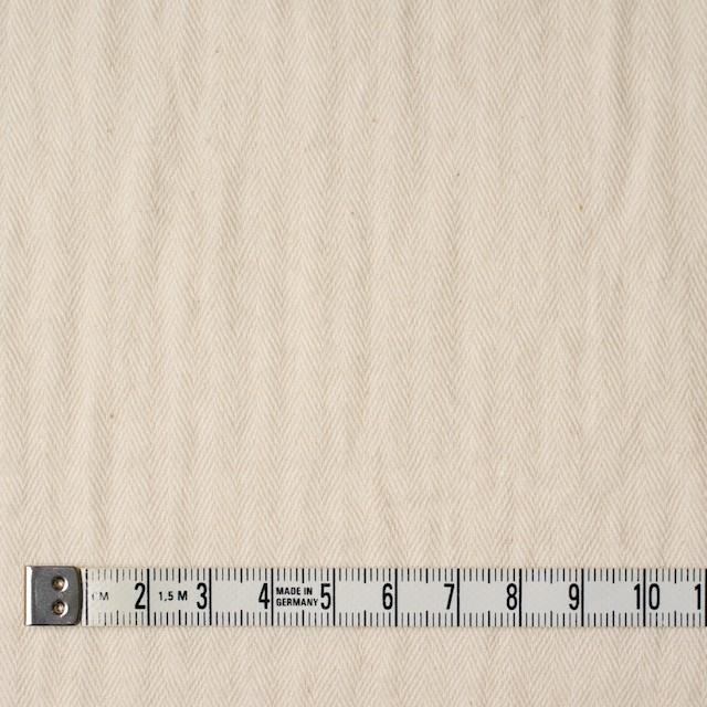 コットン×無地(キナリ)×ヘリンボーン&ガーゼ イメージ4