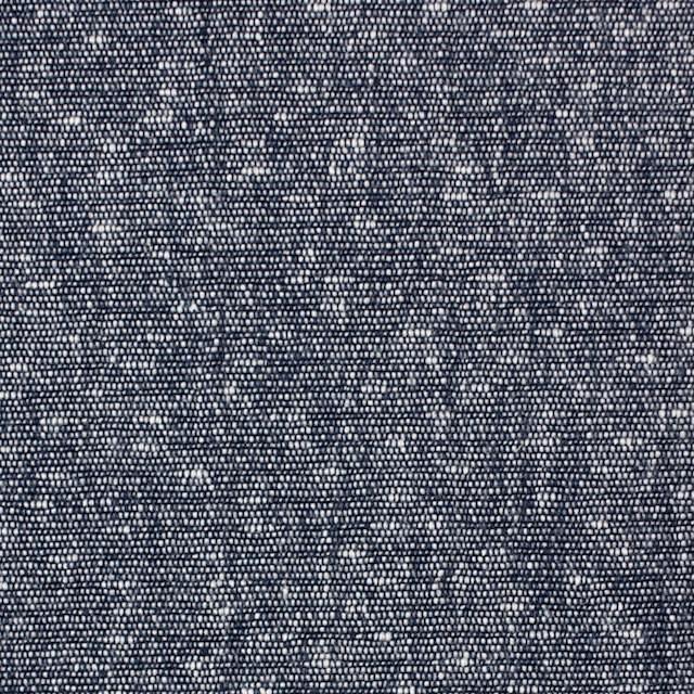 コットン×無地(ネイビー)×スラブダンガリー イメージ1