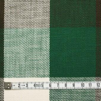 コットン×チェック(グリーン&ブラウン)×ビエラ サムネイル4