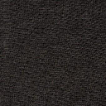 リネン×無地(ダークブラウン)×ボイルワッシャー サムネイル1