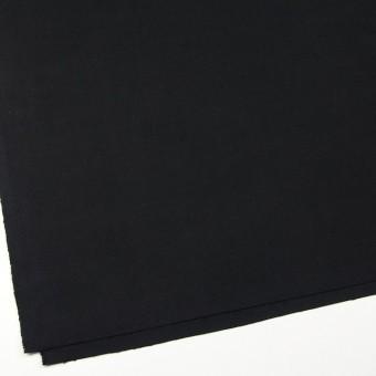 コットン×無地(ブラック)×厚オックスフォード サムネイル2