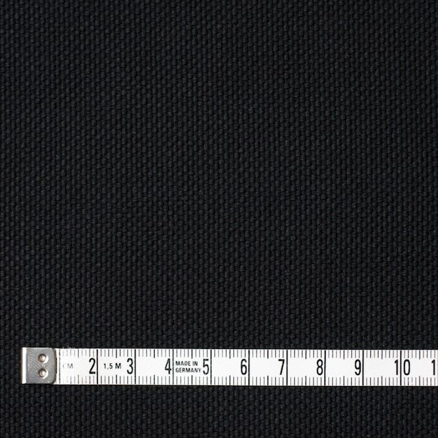 コットン×無地(ブラック)×厚オックスフォード イメージ4