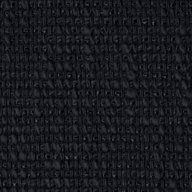 コットン&リネン×無地(ネイビーブラック)×ホップサック(斜子織) イメージ1