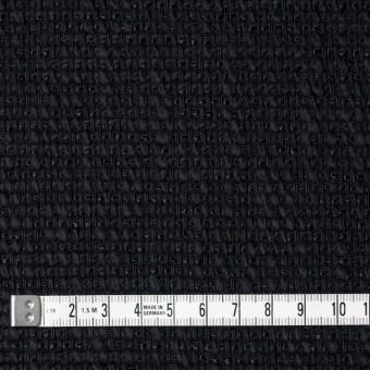 コットン&リネン×無地(ネイビーブラック)×ホップサック(斜子織) サムネイル4