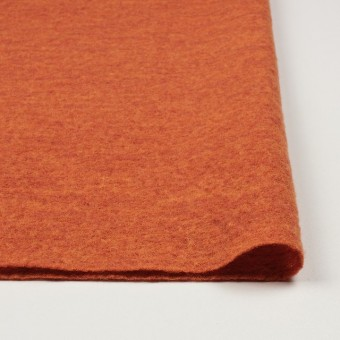ウール×無地(オレンジ)×圧縮メッシュニット_全5色 サムネイル3