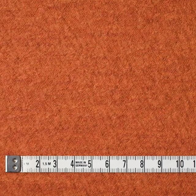 ウール×無地(オレンジ)×圧縮メッシュニット_全5色 イメージ4