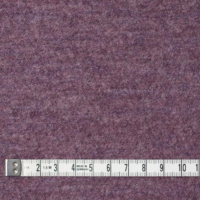 ウール×無地(モーブ)×圧縮メッシュニット_全5色 イメージ4