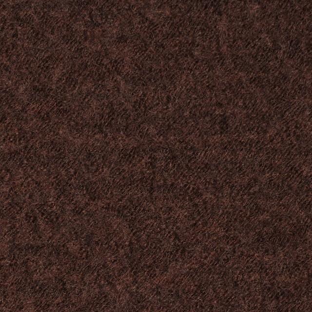 ウール×無地(ダークマホガニー)×圧縮メッシュニット_全5色 イメージ1