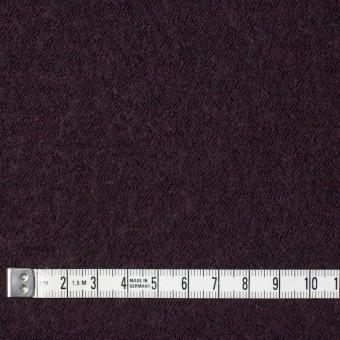 ウール×無地(ダークパープル)×圧縮メッシュニット_全5色 サムネイル4